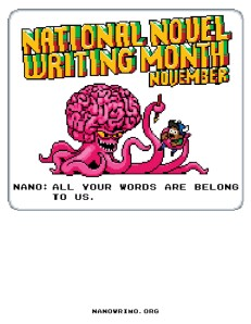 National Novel Writer's Month Goes Scott Pilgrim!