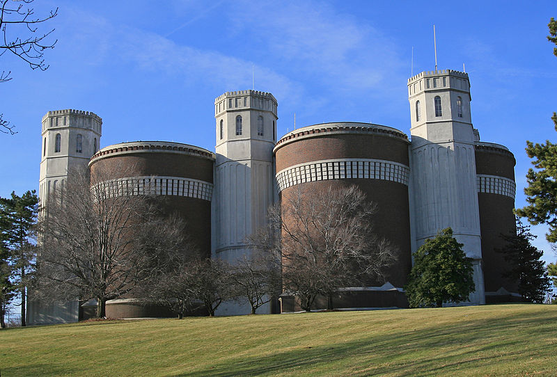 Mt. Airy Water Tower near Cincinnati Ohio