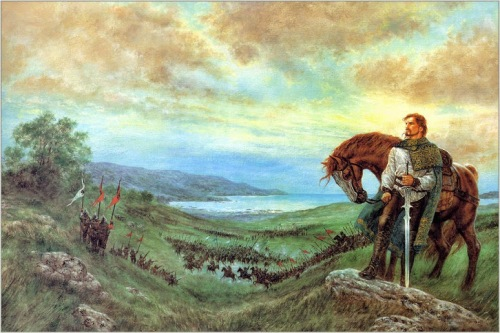 Louis_Roy_Painting The Last Prince of Ireland